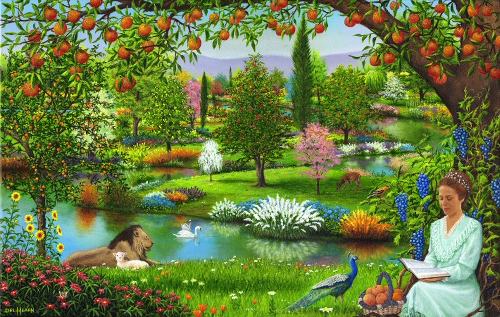 God created mankind to live in a garden not a factory