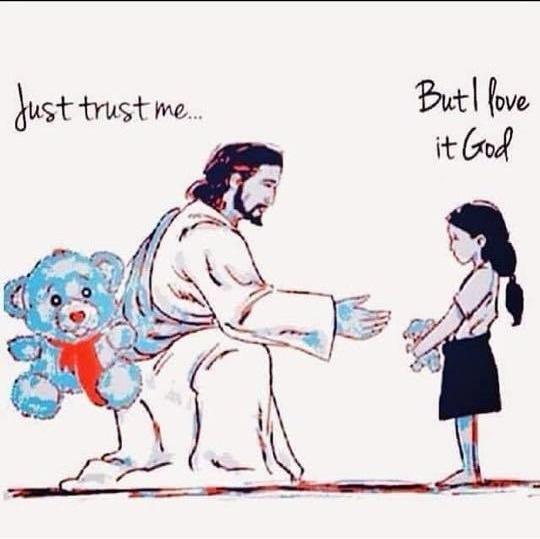 But I love it God